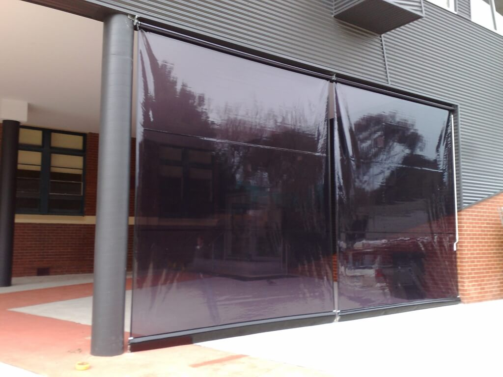 Cafe Blinds Melbourne Outdoor Clear Pvc Blinds Euroblinds
