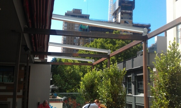 Open Retractable Roof System