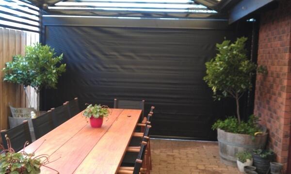 Solid PVC Cafe Blinds
