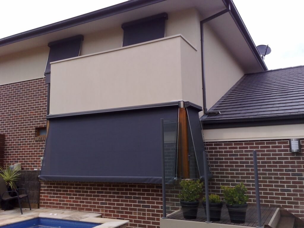 Fixed Guide Awnings Melbourne By Euroblinds