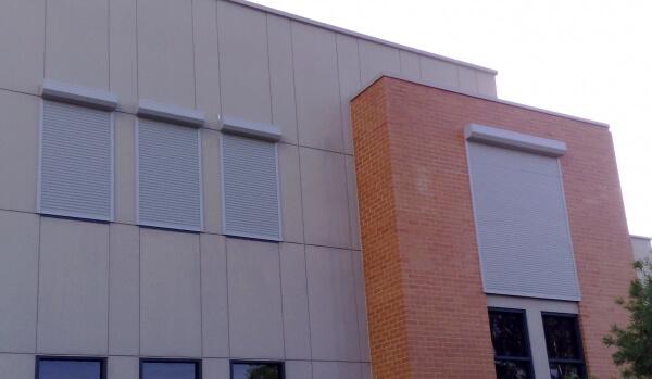 motorised window roller shutter blinds