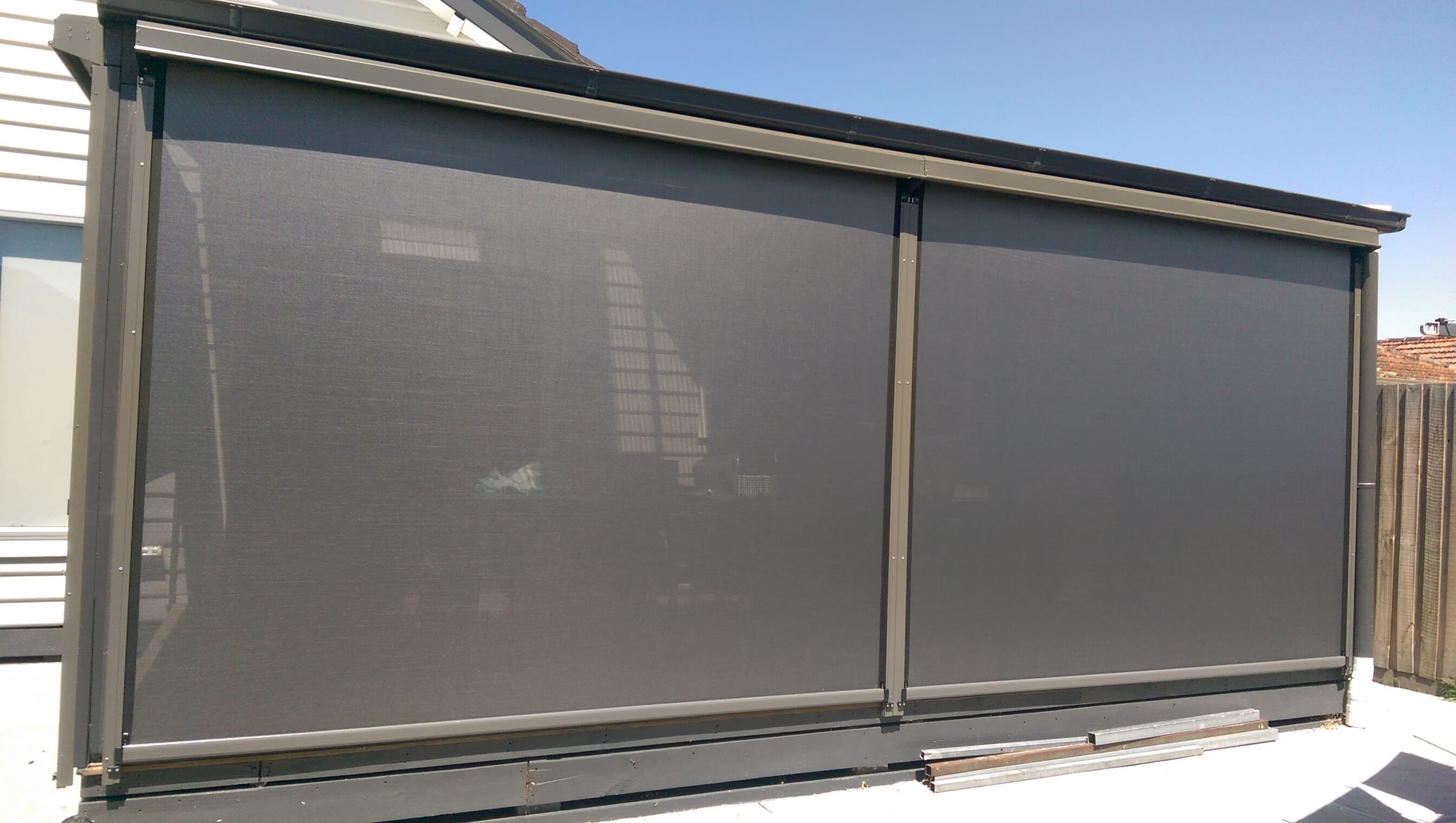 Zip Track Blinds Melbourne Ziptrak Blinds From Euroblinds