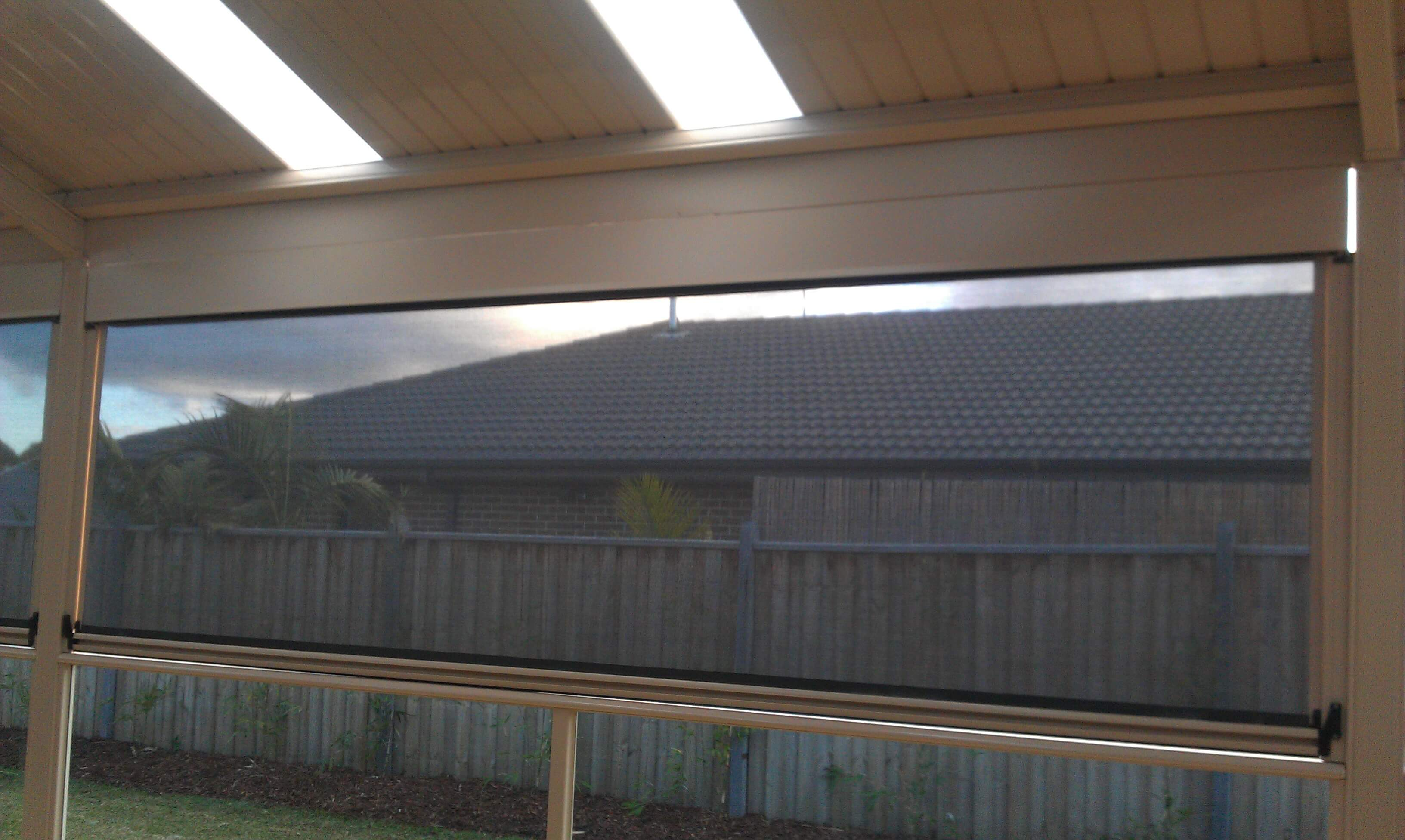 Ziptrak 174 Blinds From Euroblinds Zip Track Blinds Melbourne