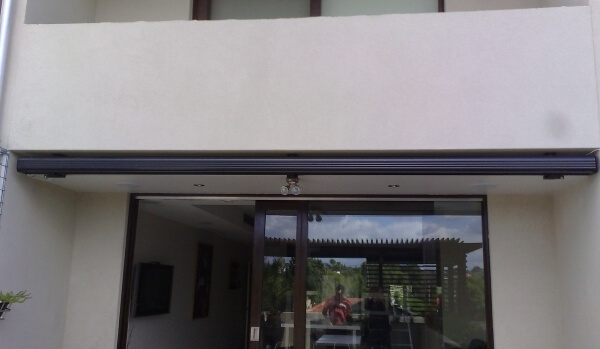 Full-Cassette Retractable Awning Closed